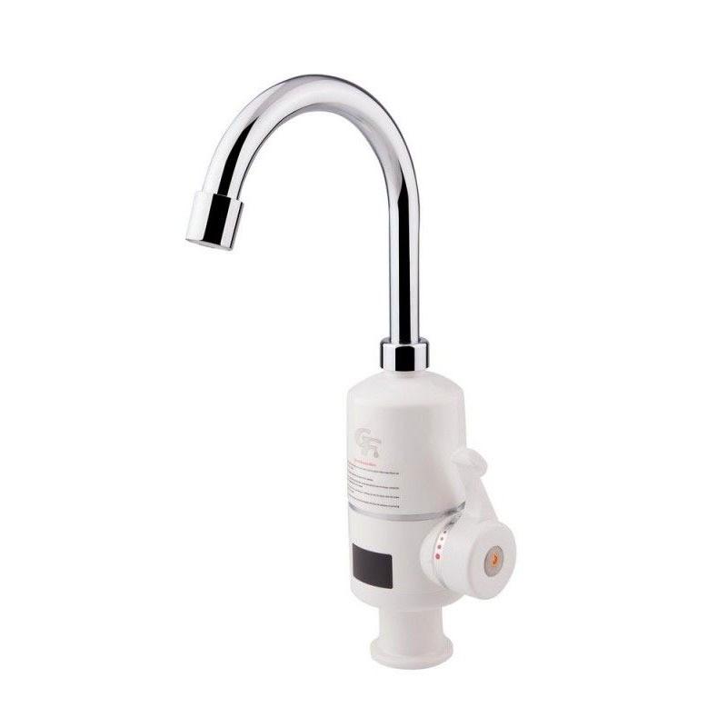 Смеситель с водонагревателем проточным