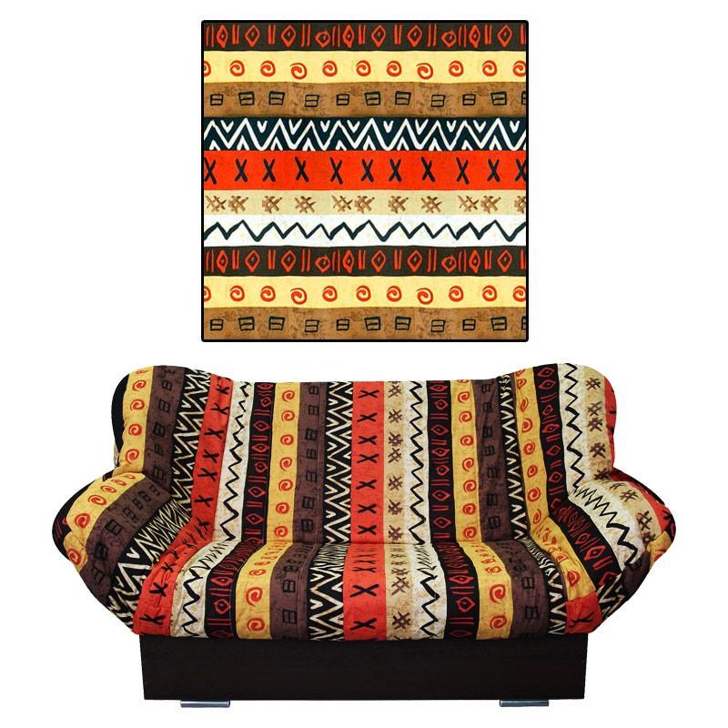 Чехол на диван клик-кляк Африка