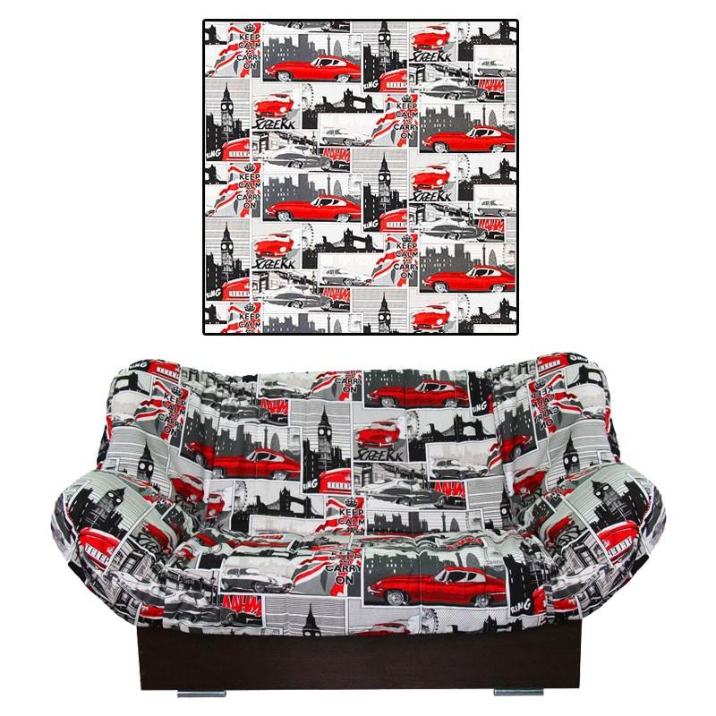 Чехол на диван клик-кляк Ягуар